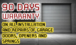 Norfolk Garage Door warranty